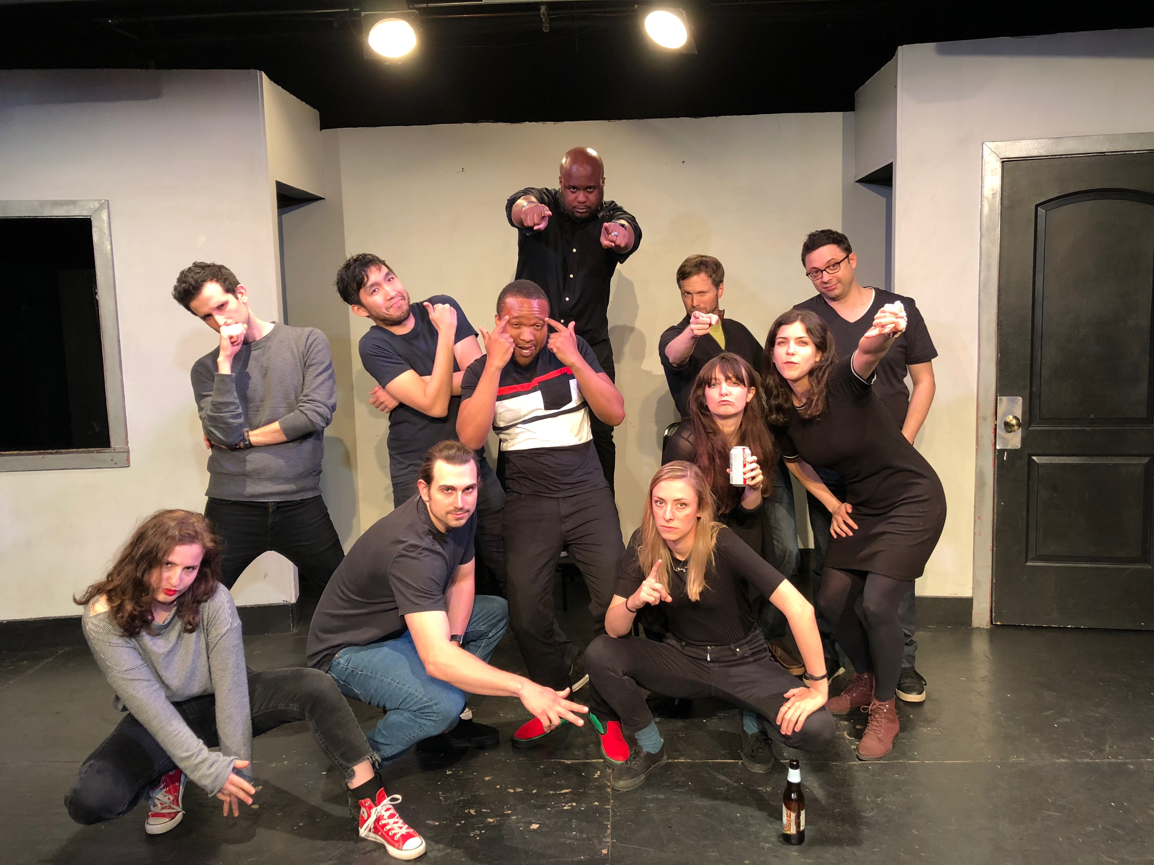 The cast of The Melodrama