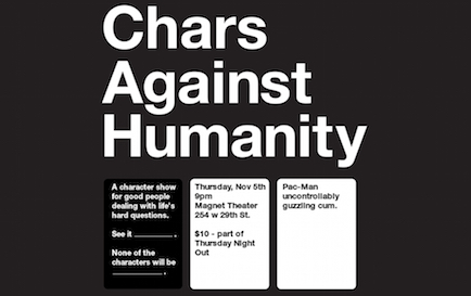 Jon Bander: Chars Against Humanity