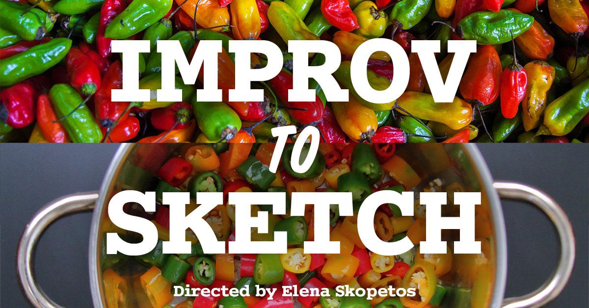 Improv To Sketch Show
