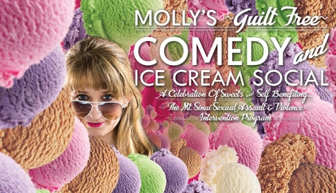 Molly's Guilt Free Comedy and Ice Cream Social - Memorial Day!