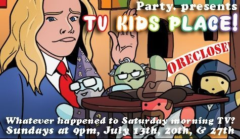 Party. Presents TV Kids Place!