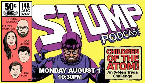 Stump Podcast: X-Men Trivia Challenge