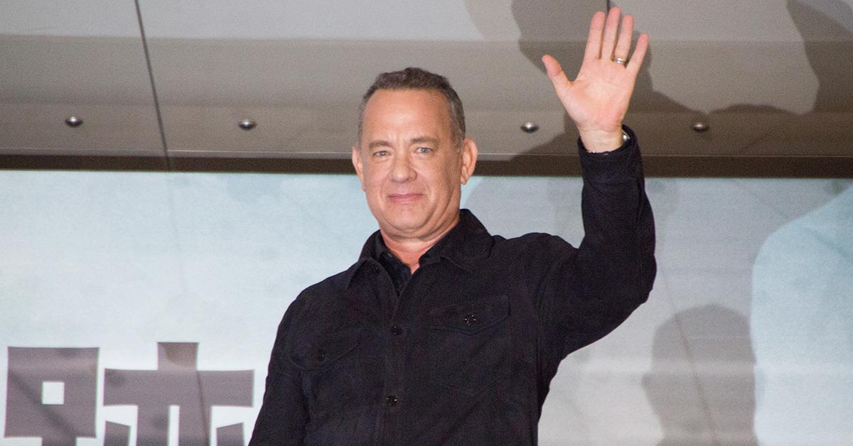Tom Hanks Book Launch