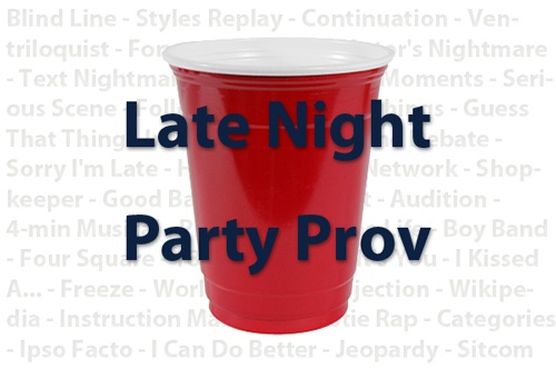 Late Night Party Prov