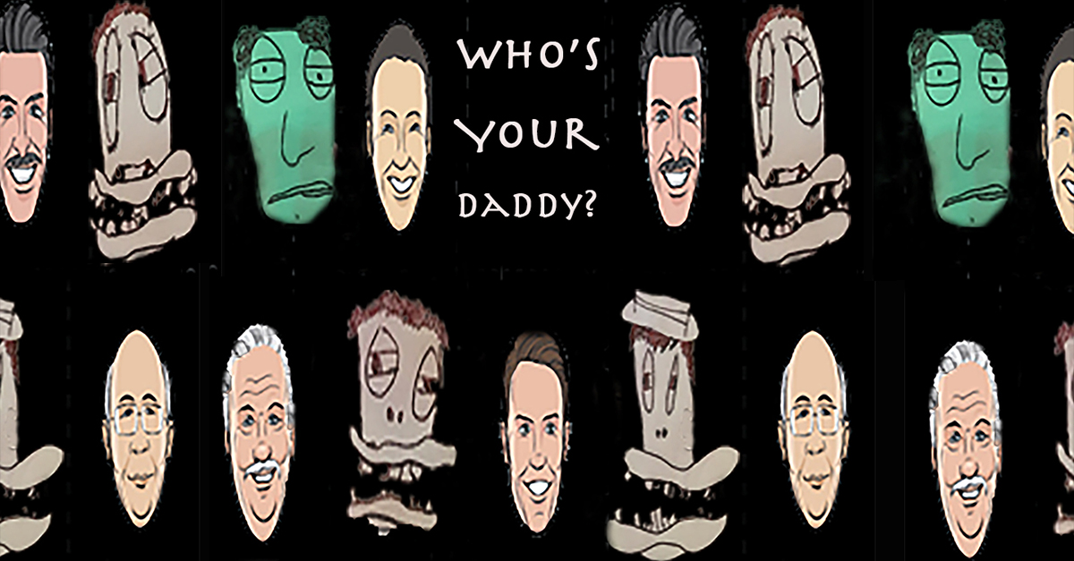 Who's Your Daddy show poster