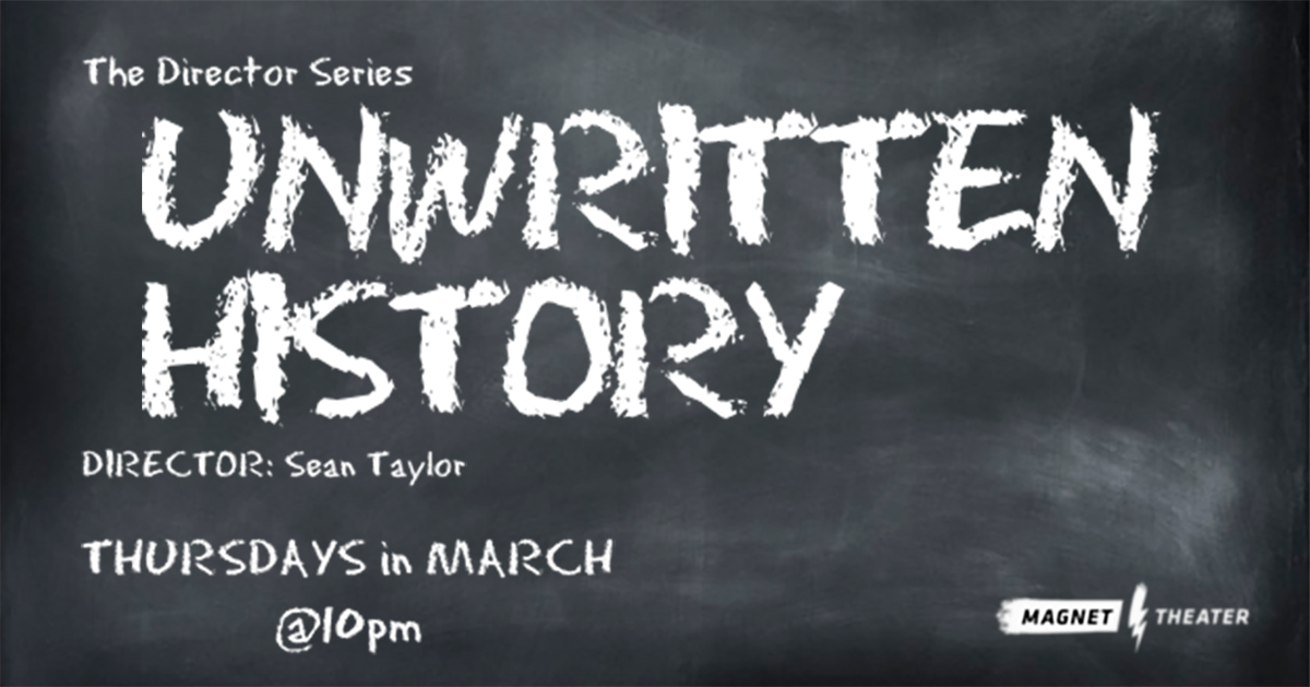 The Director Series: Unwritten History