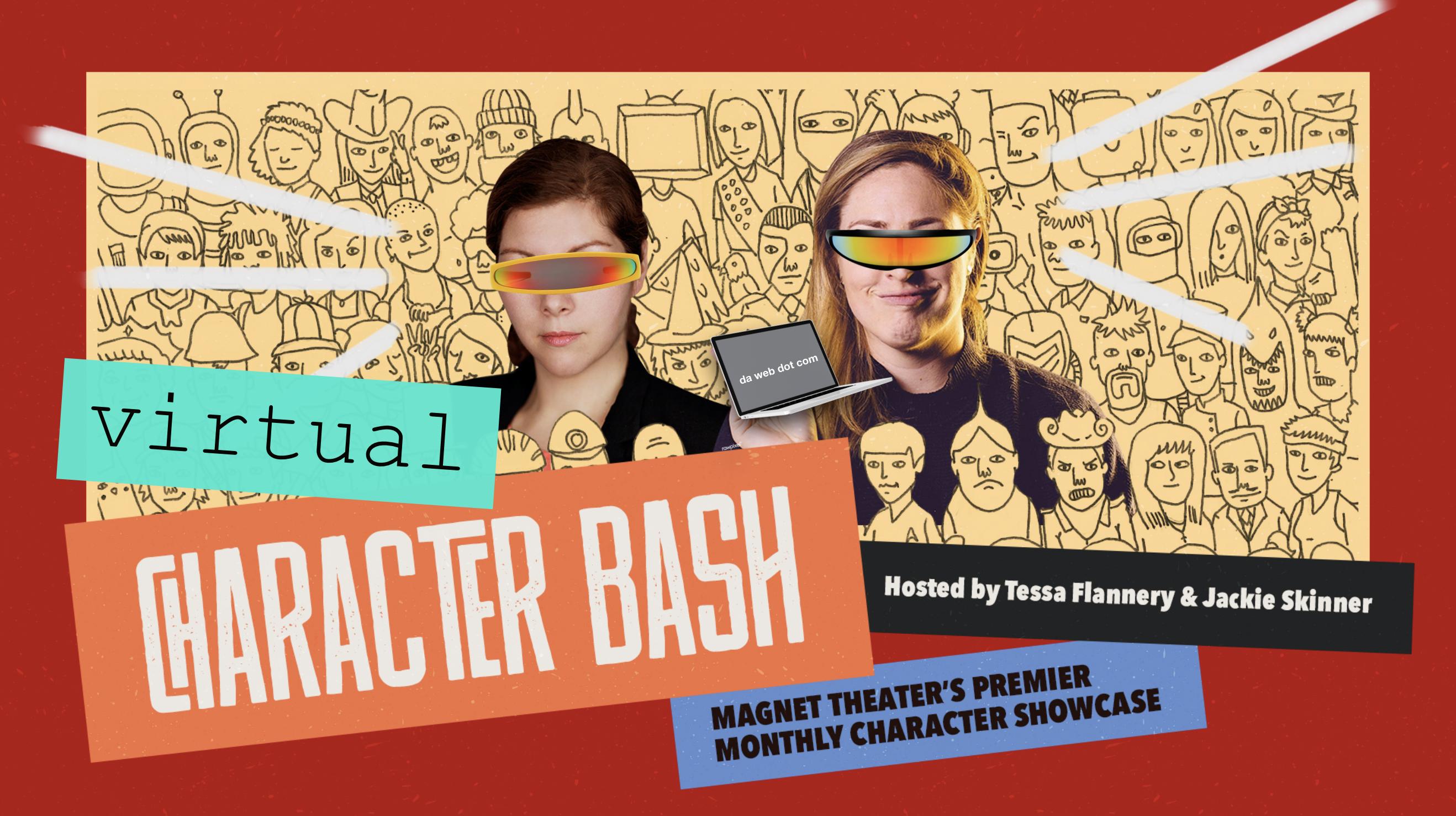 Character Bash: Night of 50 VIRTUAL Characters!